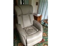 Martin & Frost Leather Recliner