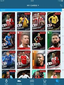 Kick Topps Cards (will sell cards on their own)