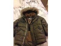 In excellent condition boys coat 3-4