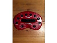 Line 6 Pod - Guitar Effects and Amp Modelling unit. Including Pedal Board
