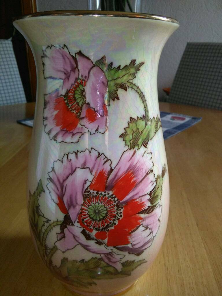 Vintage hand painted vase in royal winton made by grimwades from vintage hand painted vase in royal winton made by grimwades from the 1950s reviewsmspy