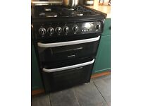 Cannon Chesterfield Black Gas Cooker