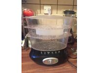 3 bowls Steamer- Used twice as new