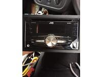 JVC KW-R510 double din car radio