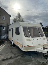 1999 fleetwood 4 berth light weight easy to tow