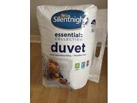 Duvet Silentnight essentials collection 10.5 tog kingsize
