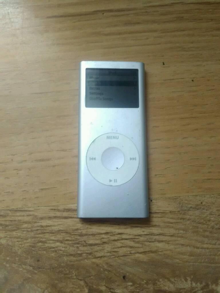 Ipod nano 2nd generation 4gb silver