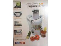 Jason Vale's Juicer, still in its box, £89.99 on Amazon.