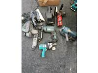 Assortment electrical tools