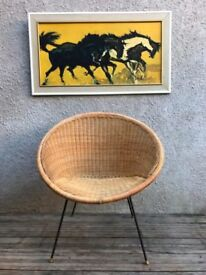 Vintage 1950s Cone / Satellite Chair