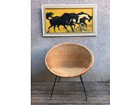 Vintage 1950s Cone / Satellite Chair