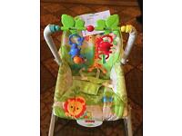 Fisher Price Rainforest Friends Rocker Seat