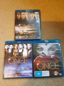 Once upon a time series 1 to 3 blu-ray