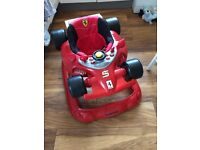 Baby walker car red toy