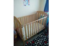 Mamas and Papas solid pine cot