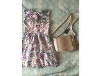 bee0e588c1 A new gorgeous dress size 10 Lipsy London +handbag