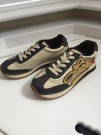 Miss Sixty Women Ladies Real Leather Trainers Sport Shoes Size 6 UK / 40 EUR