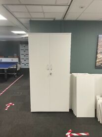 Tall office cupboards x 4