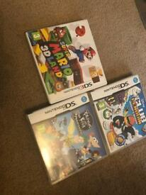 Nintendo 3DS super mario, Nintendo club penguin, Nintendo phineas and ferb