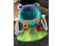 Fisher Price sit me up frog chair