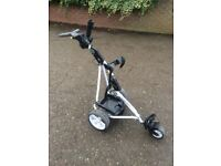 PowaKaddy Freeway 2 Electric Trolley Including Battery, Charger and Umbrella Holder!