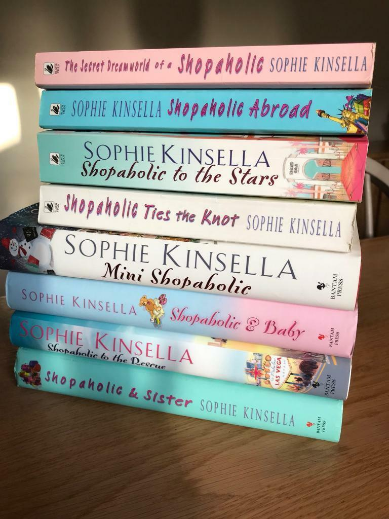 Shopaholic set of books