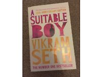 A Suitable boy and the Calculus Diaries for sale  Somerset