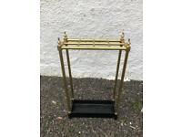Brass stick stand. * free furniture delivery *