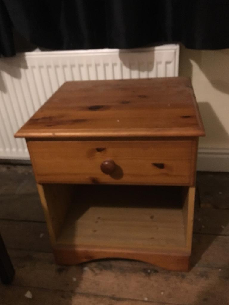 3 coffee tables and one side table with drawer for sale
