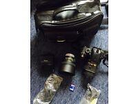 Nikon D3200 + 18-55mm + 50mm f18g nikon