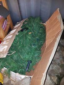7ft6 Christmas tree £10 ONO