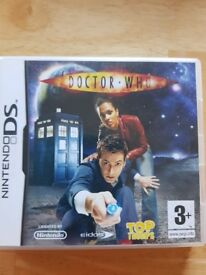 Ds game DR WHO Top Trumps
