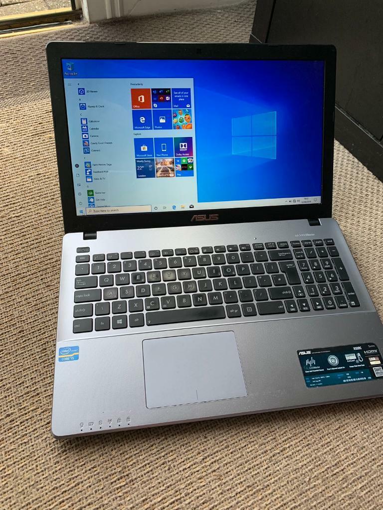 ASUS X550C I5 3 rd gen Windows 10 laptop | in Kings Lynn, Norfolk | Gumtree