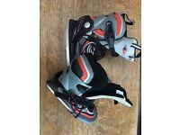 pair of child's ice skates, size 13-1.5