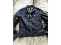 G Star Raw Denim jacket large New with tags.