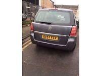 VAUXHALL ZAFIRA 7 SEATER 2 FORMER KEEPER LOW MILEAGE FULL SERVICE HISTOR FRREE 3 MONTHS WARRANTYY
