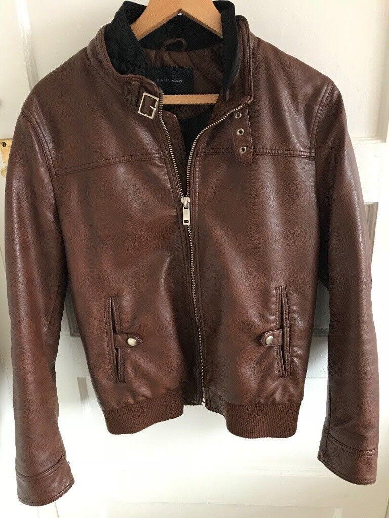 Zara Men S Faux Leather Jacket In Kenton London Gumtree