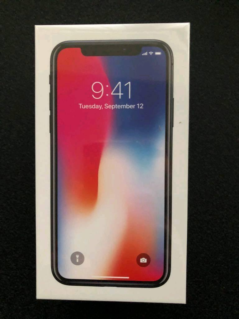 Iphone X 64gb unlocked space grey