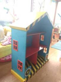 Bookcase toy storage, garage,