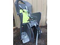 Decathlon child's rear bike seat excellent condition