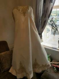 Wedding dress with tag new
