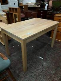 Solid Mid Sized Dining Table. Delivery Available
