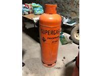Empty propane gas bottle 47kg