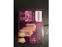 Phillips Anti-Scale replacement cartridges x8 new boxed. For steam generator GC7600 series iron