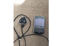 Unlocked Black Berry 9900 touch screen