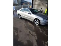 mercedes clk , 3.2petrol , very low mil 83000