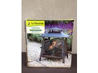 La Hacienda Lucca log burner BNIB