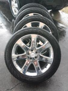LIKE BRAND NEW  2017   BUICK ENCORE FACTORY OEM  18 INCH WHEELS WITH HIGH PERFORMANCE CONTINENTA   215 / 55 / 18 TIRES