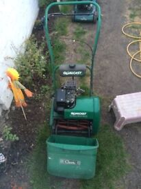 **QUALCAST CLASSIC 35s SELF PROPELLED LAWN MOWER**RECENTLY SERVICED**