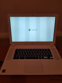 Acer Chromebook 15 os laptop for sale.